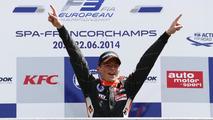Max Verstappen F3 win at Spa-Francochamps 2014