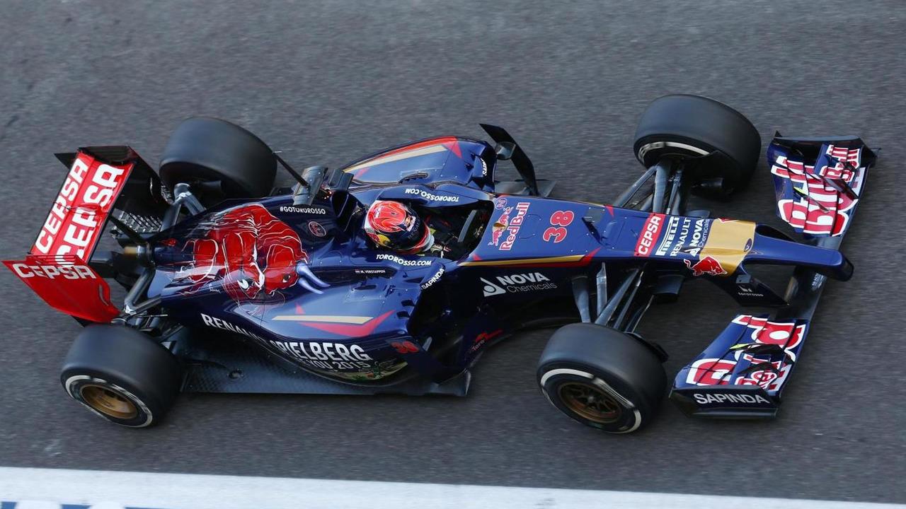 Max Verstappen (NLD), 26.11.2014, Formula 1 Testing, Day Two, Yas Marina Circuit, Abu Dhabi / XPB