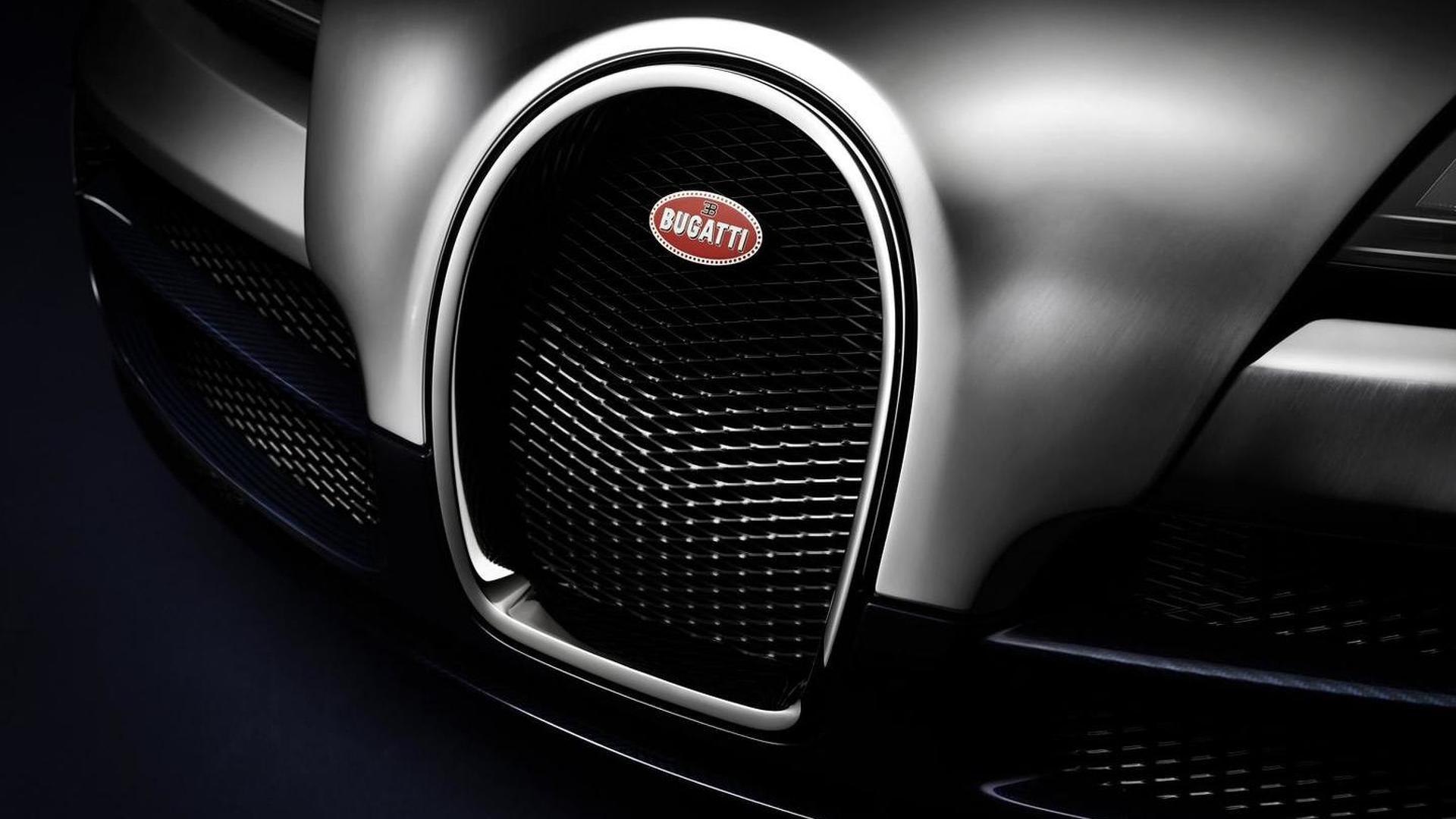 Радиаторная решетка Bugatti Veyron Ettore Bugatti Edition