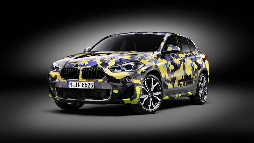 Digital Camo For BMW X2 Takes Four Days To Apply