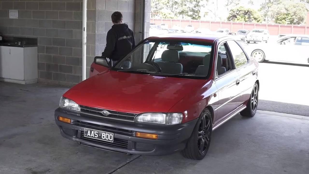 1994 Subaru Impreza with tuned EJ engine | Motor1.com Photos