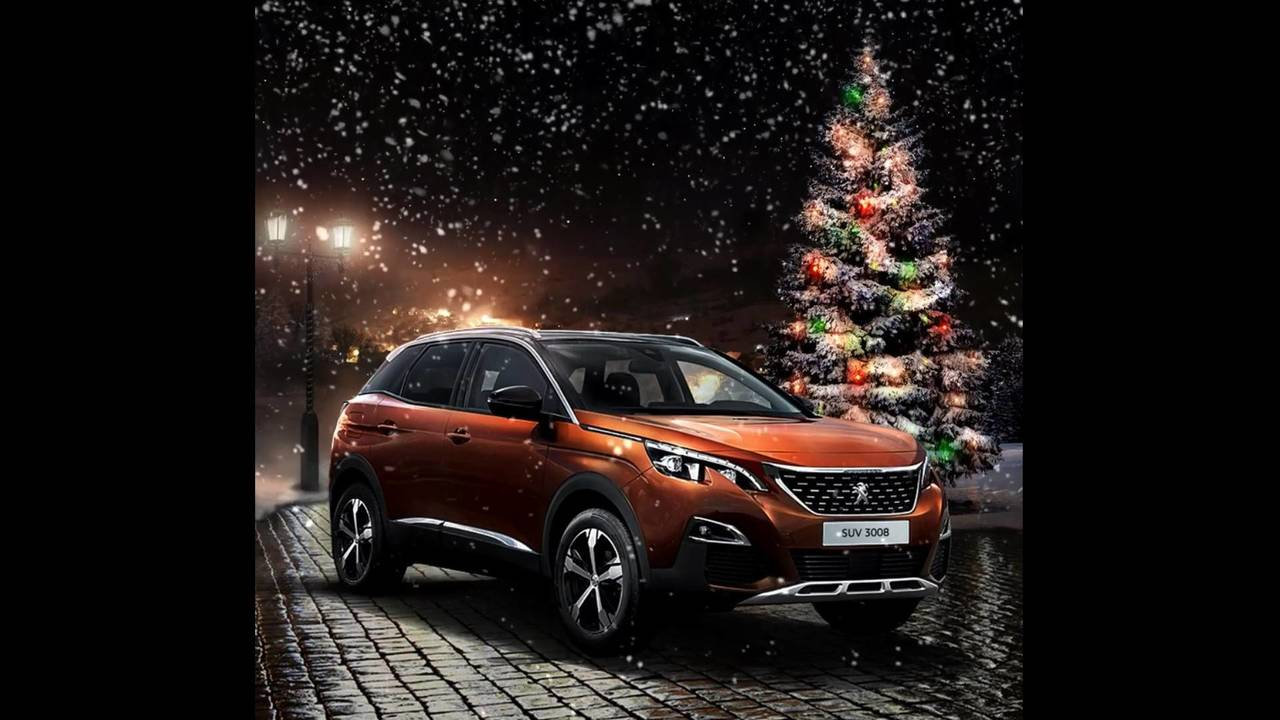Peugeot Christmas card