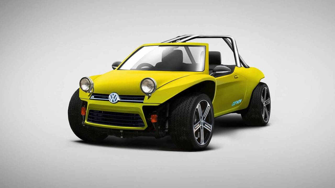 VW Golf Buggy (VW Golf R + VW Beach Buggy)