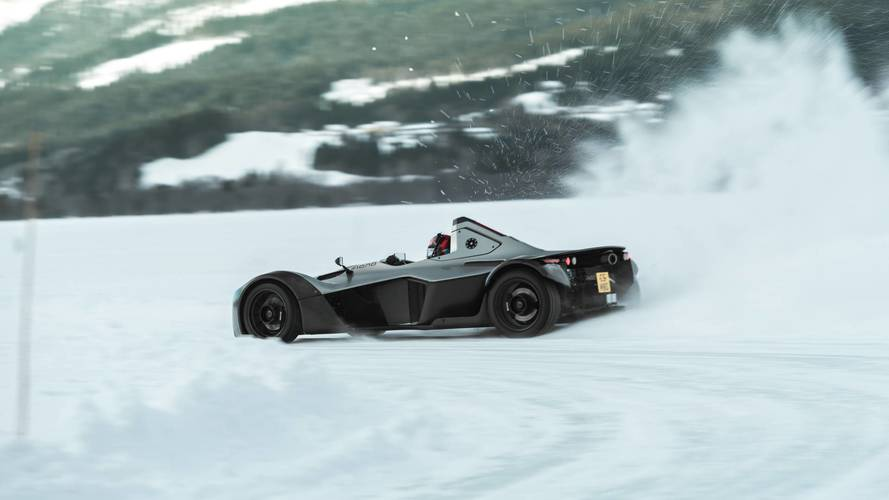 BAC Mono winter driving experience