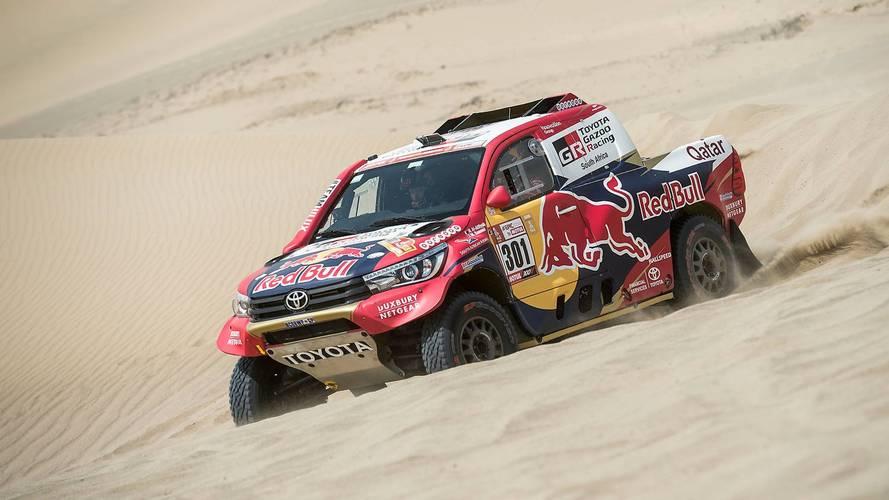 Dakar 2018: solo Al-Attiyah aguanta a los Peugeot en Pisco
