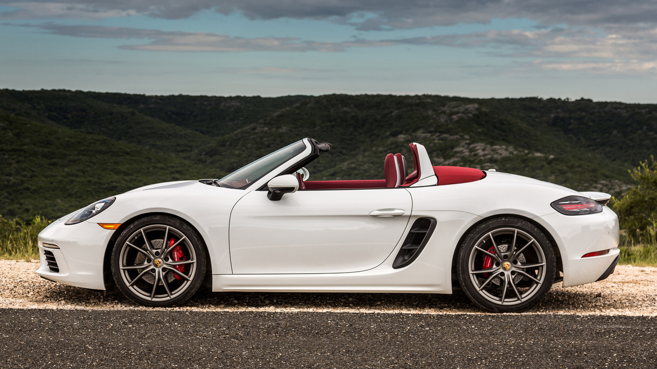 Review 2017 Porsche 718 Boxster S
