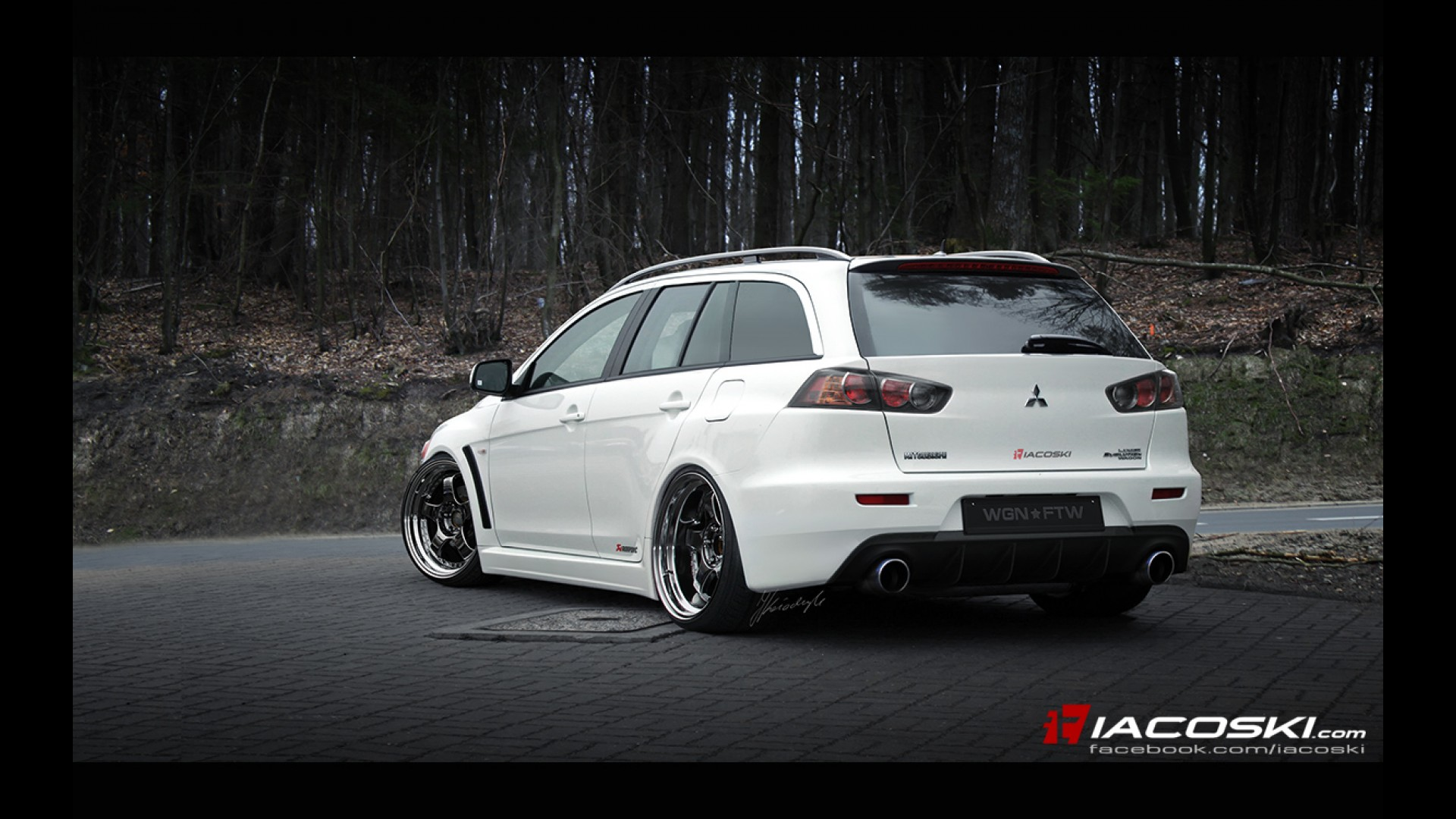 Mitsubishi Evo X Wagon by Iacoski Design