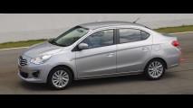 Mitsubishi Attrage será vendido na Ásia sob a bandeira da Fiat-Chrysler