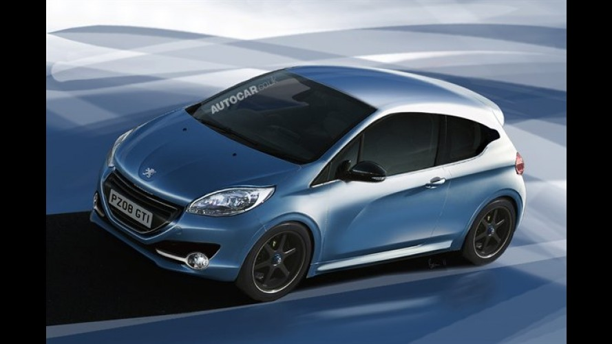 Peugeot 208 2012 terá motor 1.6 turbo com 204 cavalos em versão esportiva GTI Racing