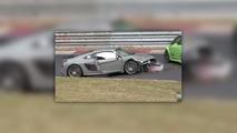 Audi R8 Crash Nurburgring
