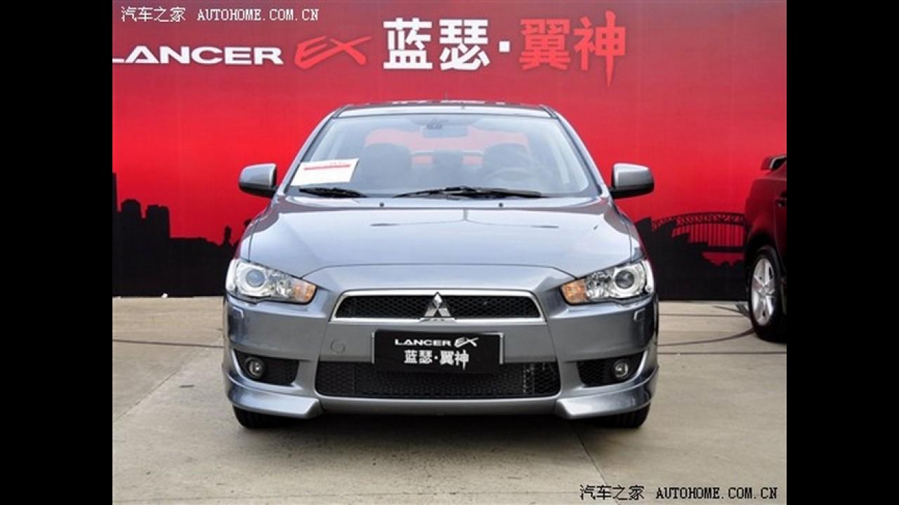 Mitsubishi Lancer 1.6 L será lançado na China - preços devem partir de R$ 27.350