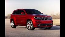 Salão de Detroit: Jeep Grand Cherokee 2014 - Novo visual, câmbio de oito velocidades e motor diesel