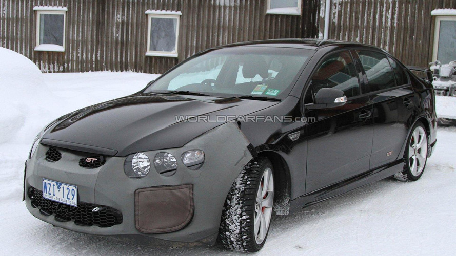 Supercharged FPV Ford Falcon GT-H spied