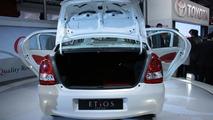 Toyota Etios Concept sedan live at 2010 New Delhi Auto Expo - 1200 - 05.01.2010