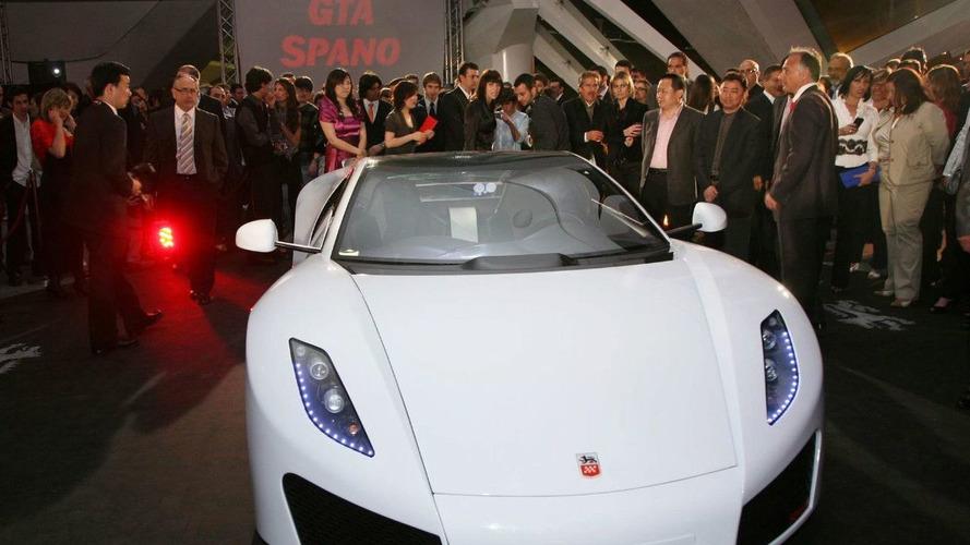 GTA Spano Supercar Revealed