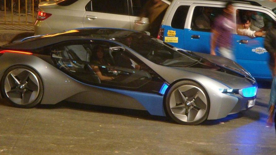 BMW Vision EfficientDynamics spied during Mission Impossible 4 filming