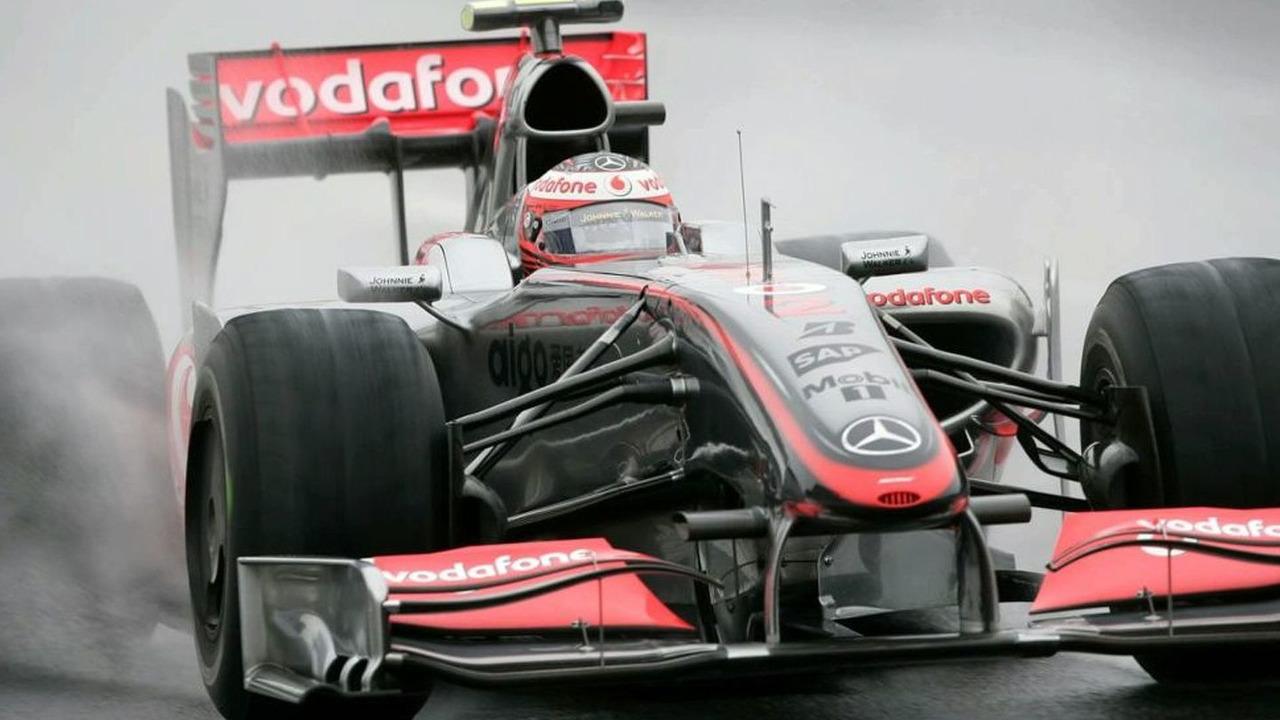 Heikki Kovalainen during Friday morning free practice for the 2009 Japanese Grand Prix at Suzuka
