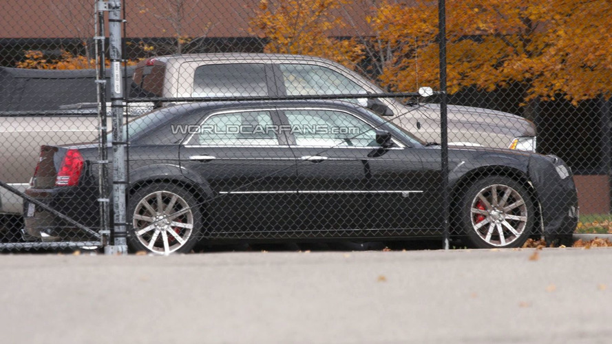 New Chrysler 300 mule Caught for First Time