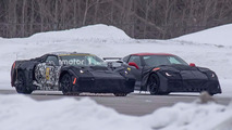 Chevrolet mid-engine Corvette and ZR1 Spy Photos