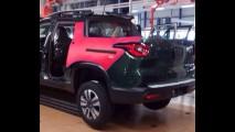 Novos informes da picape Fiat Toro, que chega depois do Carnaval