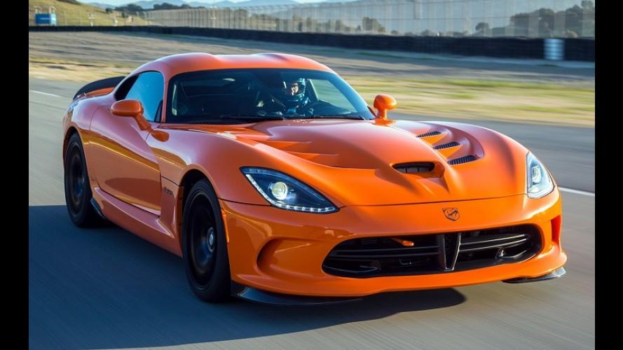 Dodge Viper deve sair de linha em 2017 sem deixar sucessor, diz site