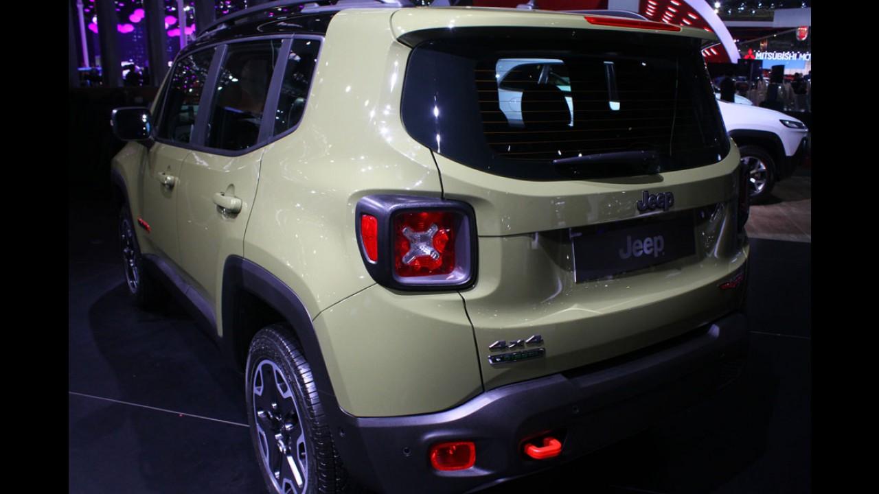 Jeep Renegade ganha site exclusivo e tem estreia marcada para o dia 23