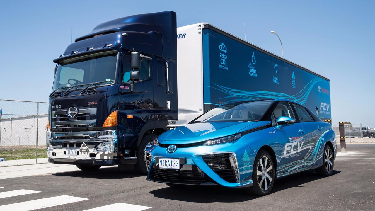 Toyota Australia mobile hydrogen filling station