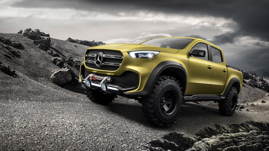 Mercedes-Benz GLT pikap lansmanı - Canlı yayın