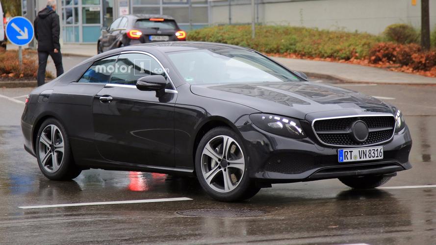Yeni Mercedes E Sınıfı Coupe ve Cabriolet oldukça dinamik ve şık görünüyor