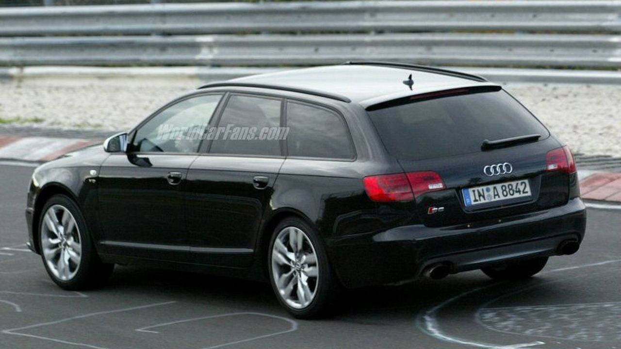 New Aud RS6 Spy Photo