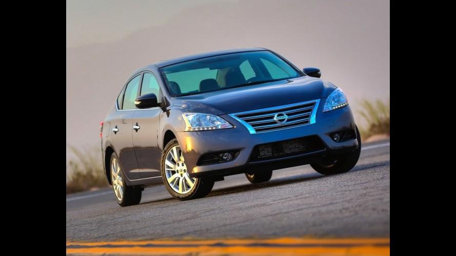 Nissan confirma chegada do novo Sentra no Brasil para o fim do ano