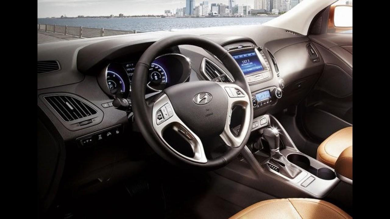 Hyundai ix35 ganha novo visual na Coreia