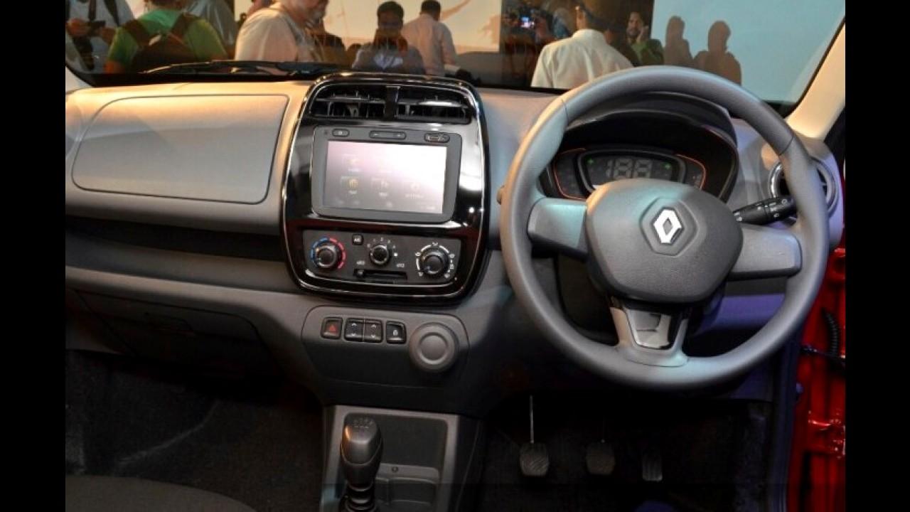 Flagra: brasileiro em 2016, Renault Kwid aparece em possível versão Stepway
