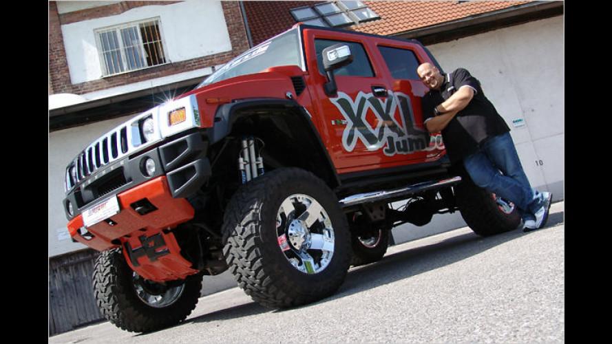 Der Teufels-Geiger: Hummer H2 SUT Jumbo XXL vom Tuner