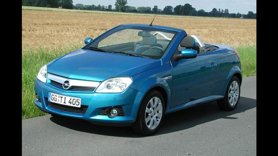 Opel Tigra TwinTop 1.8: Frischluft-Spaß für zwei