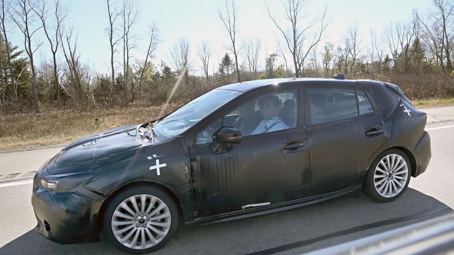 2017 Subaru Impreza sedan and hatchback spied with production body (25 photos)