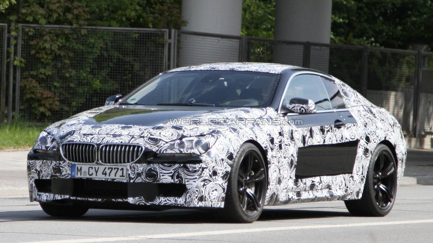 2012 BMW M6 Coupe spied again