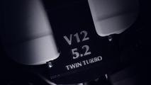 Aston Martin DB11 teaser reveals biturbo 5.2-liter V12 [video]
