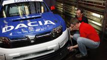 Dacia Duster rally car for Pikes Peak 26.5.2011