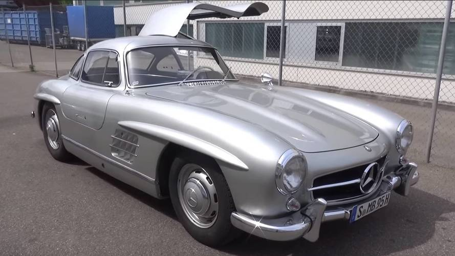 Decades On, Mercedes 300 SL Gullwing Is Still Utterly Gorgeous