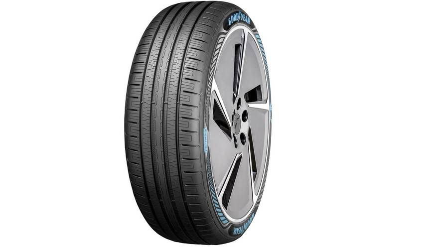 See How Goodyear's New EV Tire Is Designed To Handle Mounds Of Torque
