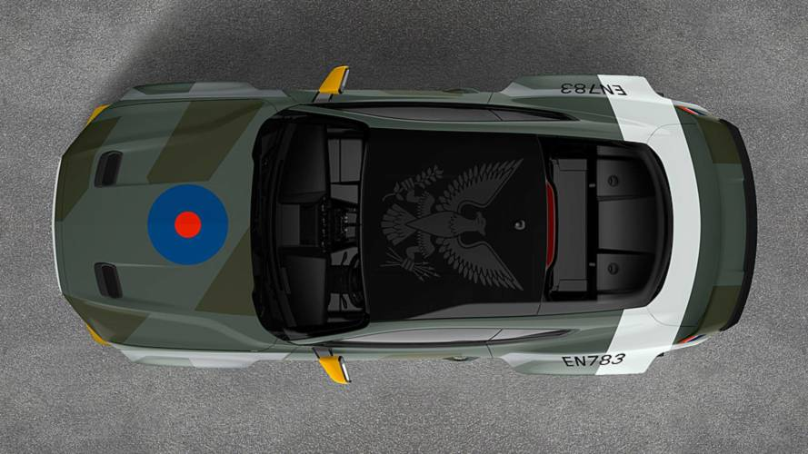Ford Unveils 700-HP, Fighter-Plane-Inspired Mustang For Charity