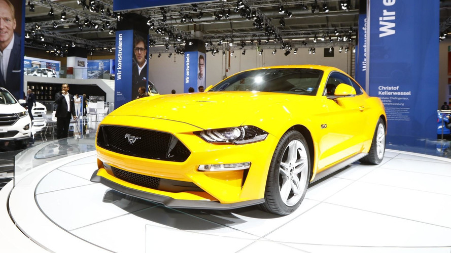 2018 Ford Mustang (Euro-spec) live in Frankfurt