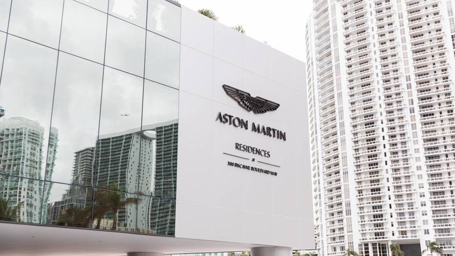 Aston Martin building tower block