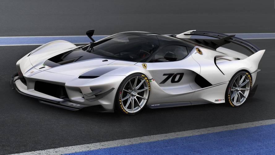 Ferrari FXX K Evo daha çok aero, daha az ağırlıkla geldi