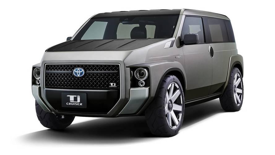 Toyota Tj Cruiser: llega el auténtico SUVolumen