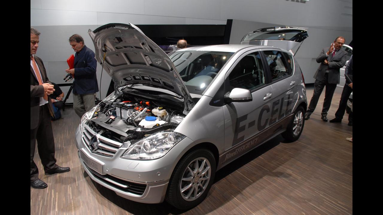 Mercedes Classe A E-CELL al Salone di Parigi 2010