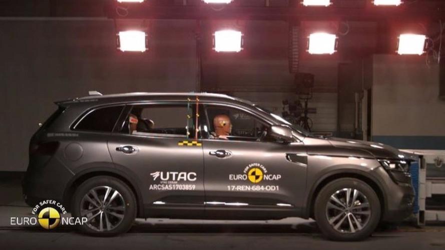 Crash-test - Le Renault Koleos assure !