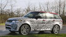 Range Rover Sport SVR facelift spy photo