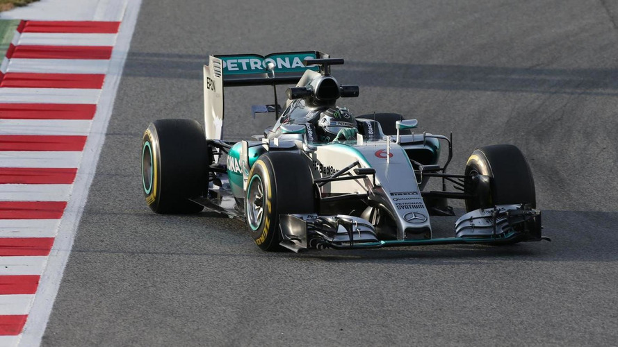 Mercedes' gap is almost 1 second per lap